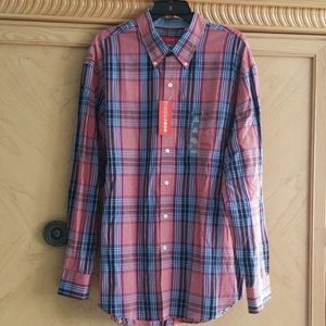 IZOD MENS Dress shirt NWT